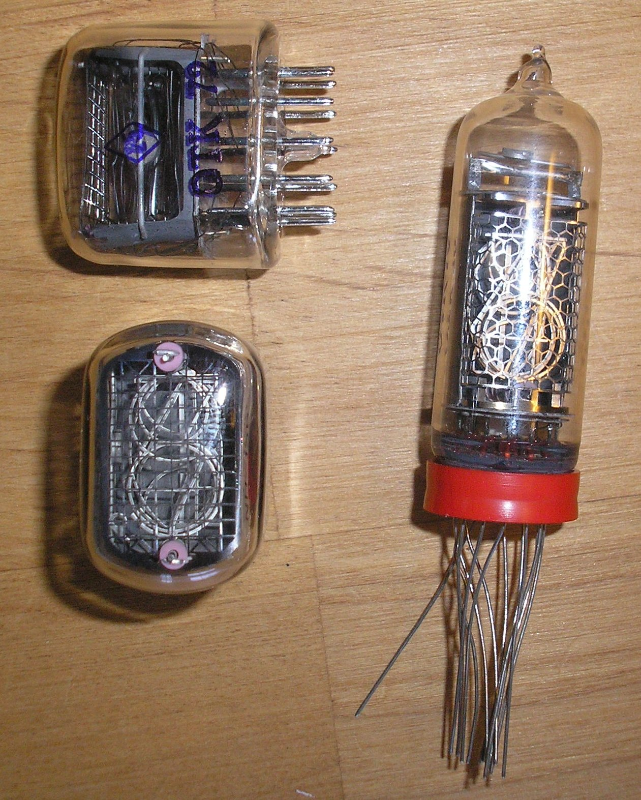 Nixie Clock Kits Tube Further On Schematic I Do Sell Spare Tubes For 20 Each You Can Use This Link To Add Your Order Are Only Offered With The Purchase Of A Or Kit